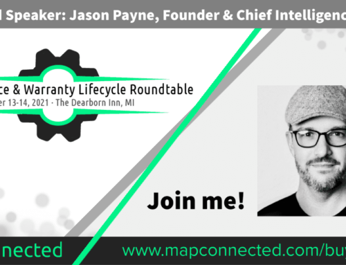 Jason Payne to present at the Vehicle Service & Warranty Lifecycle Roundtable