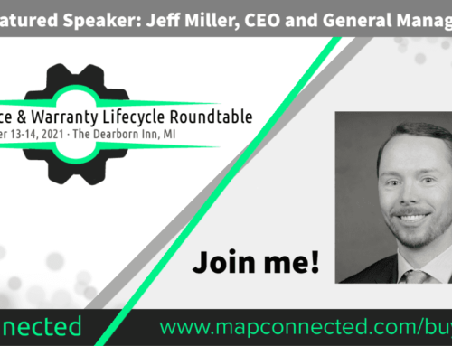 Jeff Miller CEO and General Manager Mark Miller Subaru joins speaker panel at Vehicle Service & Warranty Lifecycle Roundtable