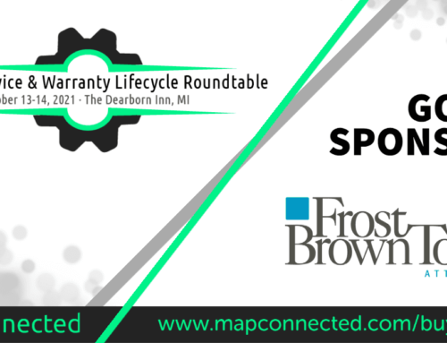 Frost Brown Todd joins as Gold Sponsor for Vehicle Service & Warranty Lifecycle Roundtable